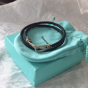 Tiffany & Co. leather bracelet